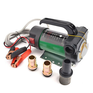 Transfer Pump Professional Electric 12v Pump Diesel Fuel Oil Engine Extractor