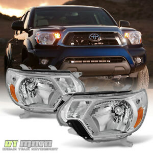 For 2012 2013 2014 2015 Toyota Tacoma Pickup Trd Headlights Headlamps Left Right