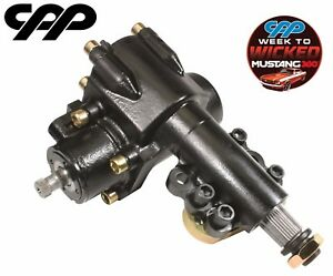 65 66 Ford Mustang Cpp 400 Series Power Steering Conversion Quick Ratio Gearbox