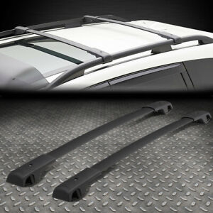 For 14 18 Subaru Forester Pair Oe Style Aluminum Top Roof Rack Rail Cross Bar