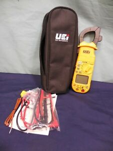 Uei Test Instruments Dl379b Clamp On 600v 400a Multi meter W Case