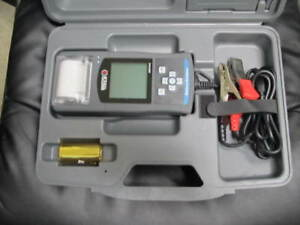Matco Mbt1015 Digital Battery Tester With Printer Technician Proffesional Tool