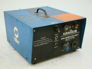 Miller Weld Control Millermatic For Spool Gun Wc 1