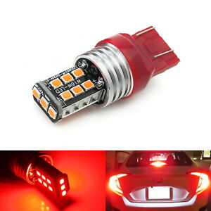 Strobe Flashing Red 15 Led Replacement Bulb For 2012 Up Civic Third Brake Light