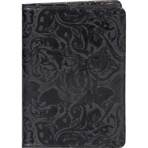 Scully New Tooled Leather Desk Size Weekly Planner Business Accessorie New