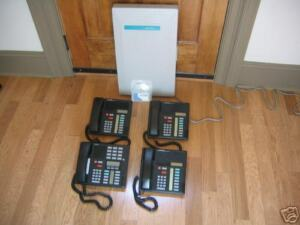 Nortel Norstar Meridian Complete Business Phone System 1 M7310 3 M7208