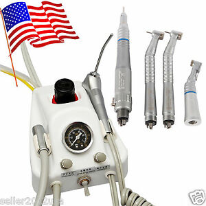 Dental Portable Turbine 4h Need Air Compressor High low Speed Handpiece R3l