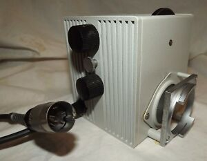 Leitz Lamp Housing 50 For Ortholux Ii Microscope Plus More