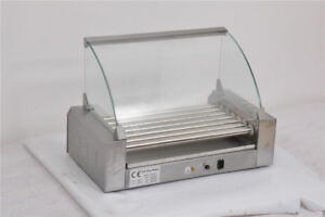 New Bbq Tools Stainless Steel 11 roller Counter Top Commercial Hot Dog Grill