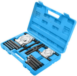 12pcs Bearing Separator Puller Set 2 And 3 Splitters Remove Bearings Tool Kit