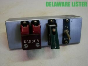 emergency danger Start shunt Down off Control Switch Panel Auto aircraft