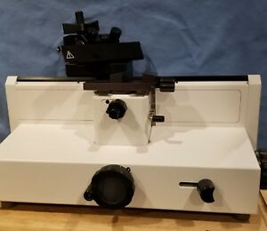 Microm Hm400r Manual Sliding Precision Microtome Histology 1 100 Microns W blade