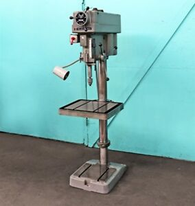 Clausing 20 Variable Speed Floor Model Drill Press 2276