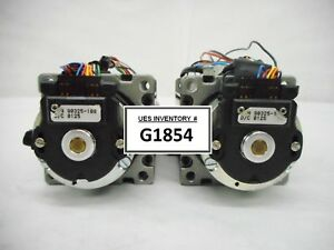 Emoteq Qb02300 t04 hbe Brushless Servo Motor Lot Of 2 Used