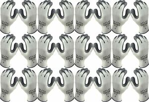 Atlas 451 Therma fit Cold Weather Insulated Rubber Large Work Gloves 12 pairs