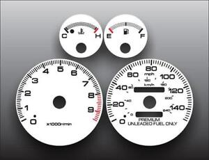 1994 2001 Acura Integra Gs R Dash Instrument Cluster White Face Gauges