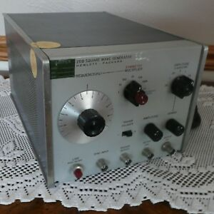 Hp Square Wave Generator 211b Hewlett Packard