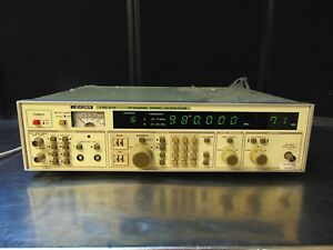 Leader Lsg 216 Standard Signal Generator Good Cosmetic Condition Powers On Rh477