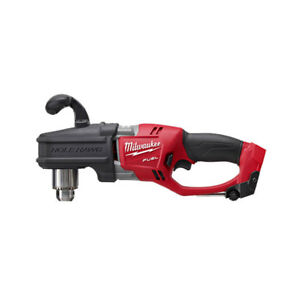 Milwaukee 2707 20 Fuel Hole Hawg 1 2 in Brushless Right Angle Drill Bare Tool