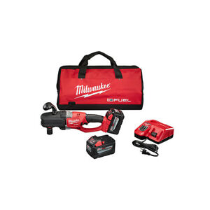 Milwaukee 2708 22hd M18 Fuel Hole Hawg Right Angle Drill Kit With Quik lok