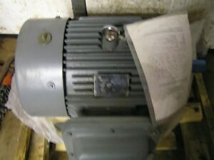 Worldwide Electric Explosion Proof 15hp 1765rpm 254tc 230 460volt