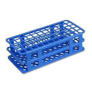 13 Mm Plastic Test Tube Rack 90 Holes Blue Karter Scientific case Of 50
