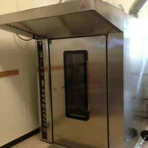 Double Rack Oven Gas Rotorbake Bake Off T14