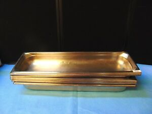 6 Pack Full Size 4 Deep Stainless Steel Commercial Steam Table Pans Rh485
