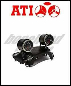 Ati Dual 60mm Steering Column Gauge Pod 2003 2006 Mitsubishi Lancer Evo 8