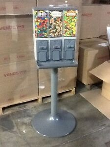 4 New Vendstar 3000 Vend3 Candy Vending Machines W locks keys Best Deal On Ebay