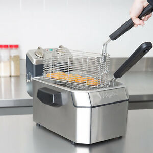 New Waring Wdf1000b Countertop Commercial Deep Fryer 208v