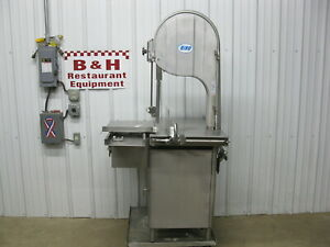 Biro Heavy Duty Meat Deer Butcher Shop Grocery Store Band Saw 3334