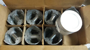 383 Dodge Chrysler Pistons 65 Thru 69 With 2bbl Carb Set Of 8