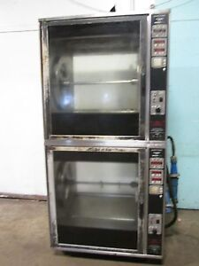 henny Penny Scr 8 H d Commercial Double Stacked Electric Rotisserie Oven