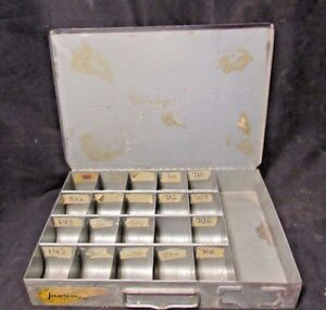 Lawson Products Parts Cabinet Drawers Bin 21 Sections