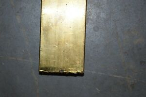 Brass Flat Bar Stock 1 1 4 X 2 1 2 X 6