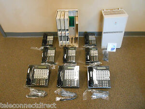 Avaya Lucent At t Partner Business Office Phone System 8 Phones