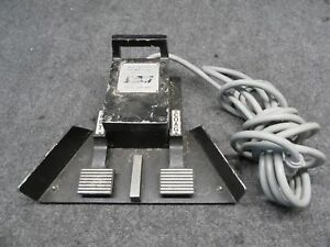 Valleylab Model E6008 Monopolar Esu Footswitch Pedal tested Working
