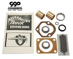 1947 59 Chevy Gmc 1 2 Ton Truck Pickup Steering Box Gearbox Rebuild Kit Upgrade