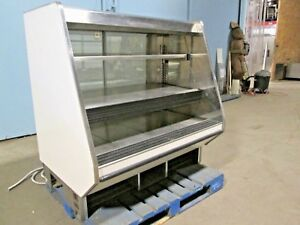 barker Co Commercial Heated Lighted Self serve Hot Food chicken Merchandiser