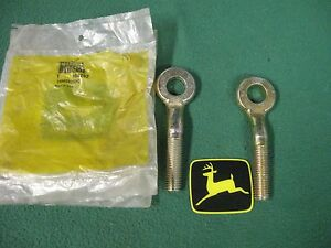 2 New Oem John Deere Combine Concave Eye Bolts H84292 3300 4400 6600 7700 4420 6