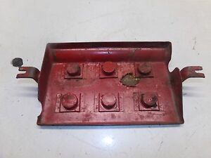 Farmall M Tractor Battery Box Cover