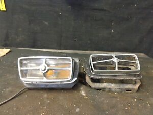 1970 Ford Mustang Turn Signal Parklight Assembly Lh With Some Rh Parts