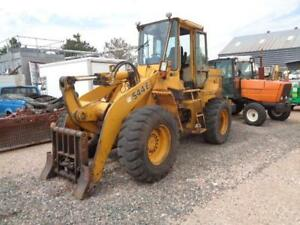 John Deere 544 E Front End Pay Wheel Loader Quick Attach New Tranny
