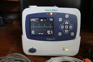 802lt0n Welch Allyn Propaq Lt Monitor Set