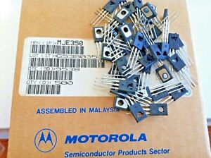 100 Pieces Mje350 Plastic Power Pnp Silicon Transistor New Original Motorola