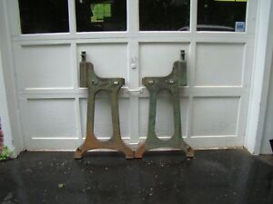 Rare Industrial Cast Iron Legs Vintage Machine Legs Industrial Repurposed Legs