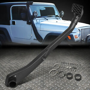 For 99 06 Jeep Wrangler Tj 4x4 Offroad Long Tube Inlet Intake System Snorkel Kit