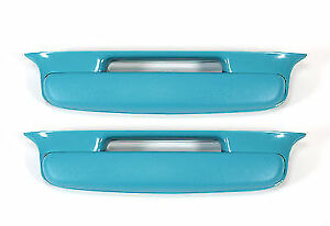 1957 Chevrolet Arm Rest Car Belair Cars 1 Pair Turquise