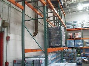 Industrial Commercial Warehouse Shelving Pallet Racks Teardrop Used Pu Ny